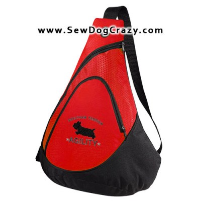 Embroidered Sealyham Terrier Agility Bags