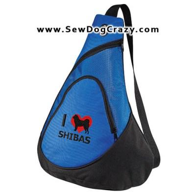 I Love Shibas Bag