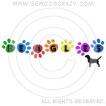 Embroidered Rainbow Beagle Shirts