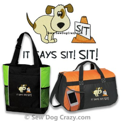 Funny Rally Obedience Bags