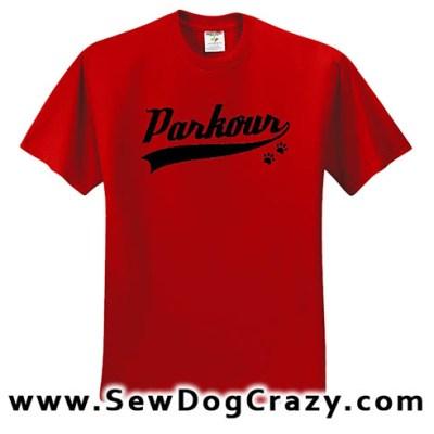 Canine Parkour TShirts