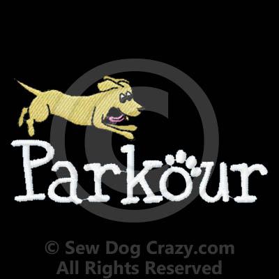 Cartoon Dog Parkour Bags