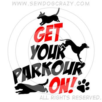 Cool Dog Parkour Shirts