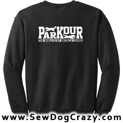 Canine Parkour Sweatshirts