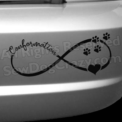 Show Dogs Conformation Decals