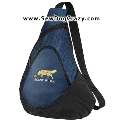 Golden Retriever Nose Work Bag