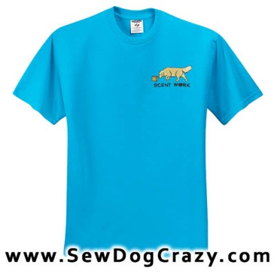 Golden Retriever Nosework Tshirt