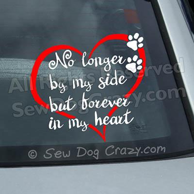 Pet Loss Car Window Stickers