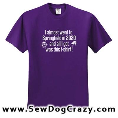 Springfield 2020 Agility Tshirt