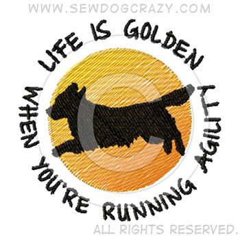 Golden Retriever Agility Shirts