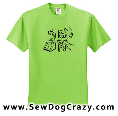 Embroidered Flyball Shirts