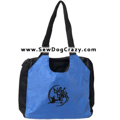 Embroidered Disc Dog Bag