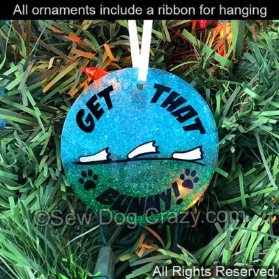 Get That Bunny Holiday Ornament