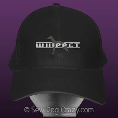 Embroidered Whippet Hat