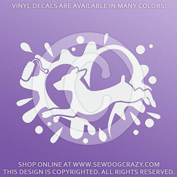 Min Pin Dock Diving Decals