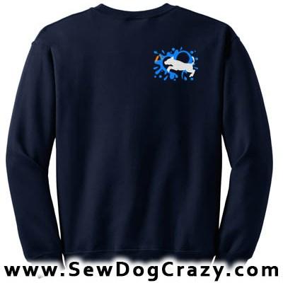 Dock Jumping Pit Bull Sweatshirt