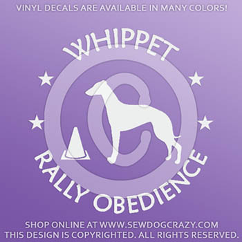 Whippet RallyO Decals