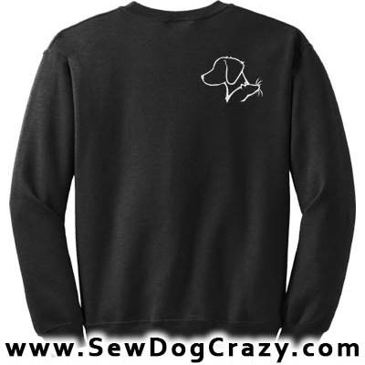 Brittany and Rat Sweatshirt