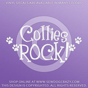Collies Rock Decals