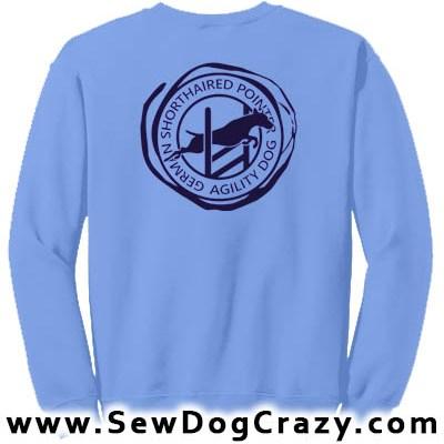 German Shorthair Agility Sweatshirts