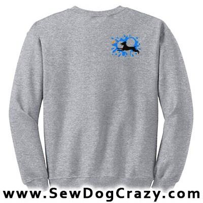 German Shorthaired Pointer Dock Jumping Sweatshirt