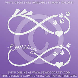 Infinity Lure Coursing Decals