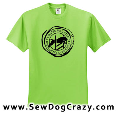 Wheaten Terrier Agility Tshirt