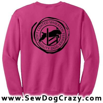 Soft Coated Wheaten Terrier Agility Sweatshirts