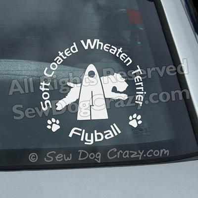 Wheaten Terrier Flyball Gifts