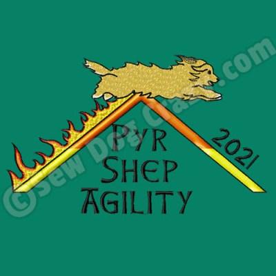 Pyrenean Shepherd Agility