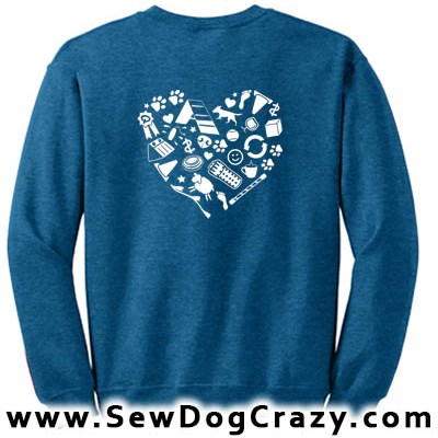Love Performance Dog Sweatshirts