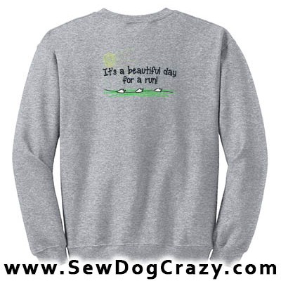 Embroidered Lure Coursing Hoodies