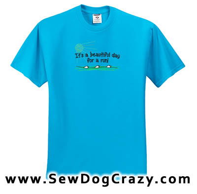 Embroidered Fast cat tshirts