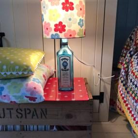 Gin bottle revamped