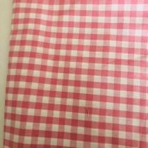 32 pink check