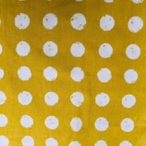 13 - mustard large dotty