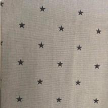 1 grey with black stars