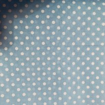 6 Pale Blue Dotty
