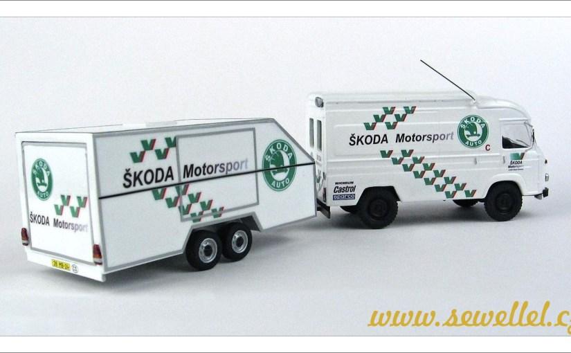 Přívěs Škoda Motorsport