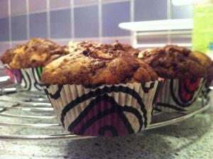 Granatapfel - Zimt Muffins