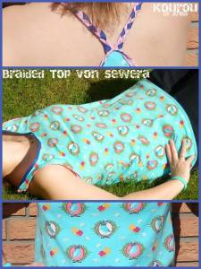 braided top collage by kourou