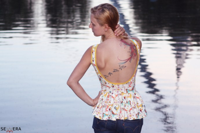 Backless Top at Olympiapark