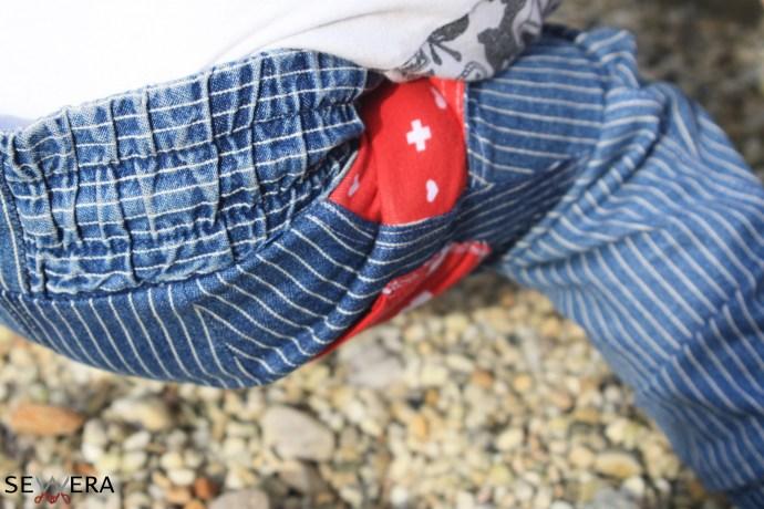 Bündchen Chino Jeans upcycling