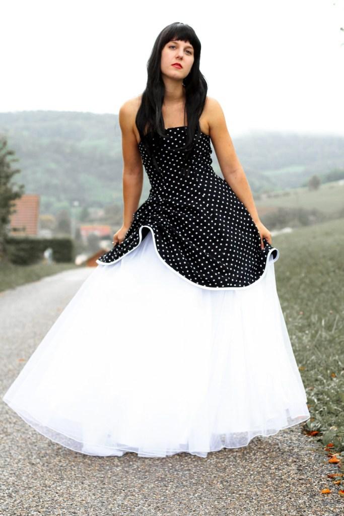getupftes Kleid