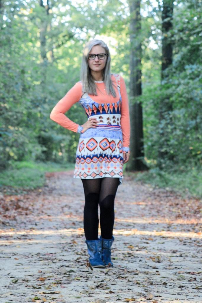 it's a masha granny dress