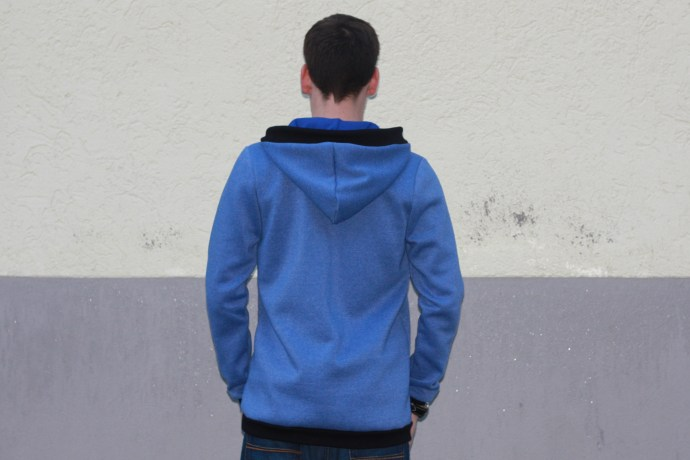 hoodie for men blue