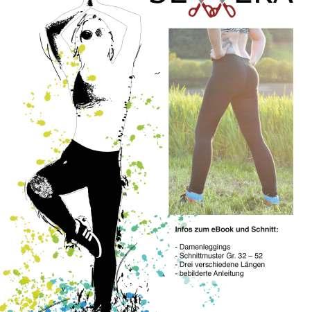 Papierschnittmuster Hold\'n\'Sporty BH by Sewera - Sewera Fashion