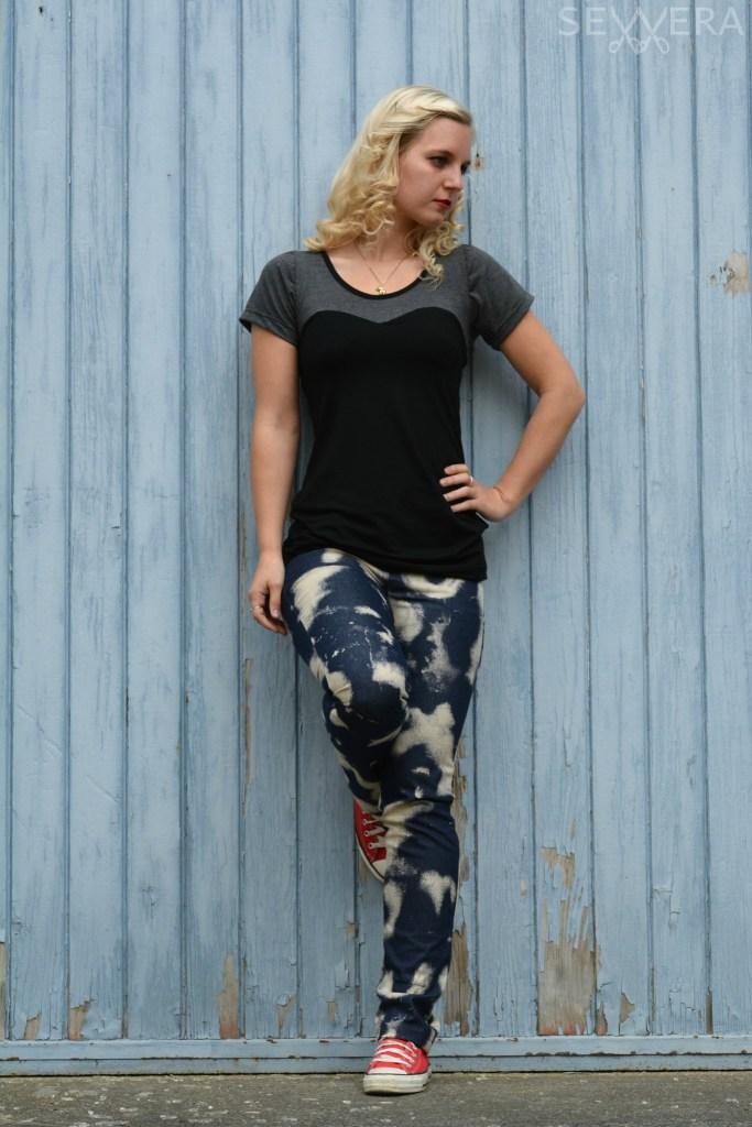 Skinny Jeans Damen Schnittmuster