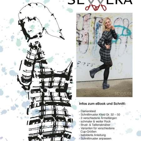 Papierschnittmuster Winter Dress by Sewera - Sewera Fashion
