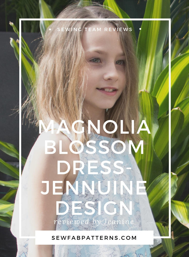 magnolia blossom dress